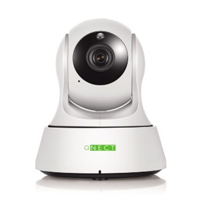Picture of PTZ WLAN IP Camera Qnect, indoor, pan, tilt, zoom, Black
