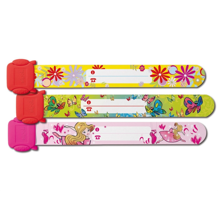 Picture of Kids ID bands Sigel 197x32mm 3 pièces filles