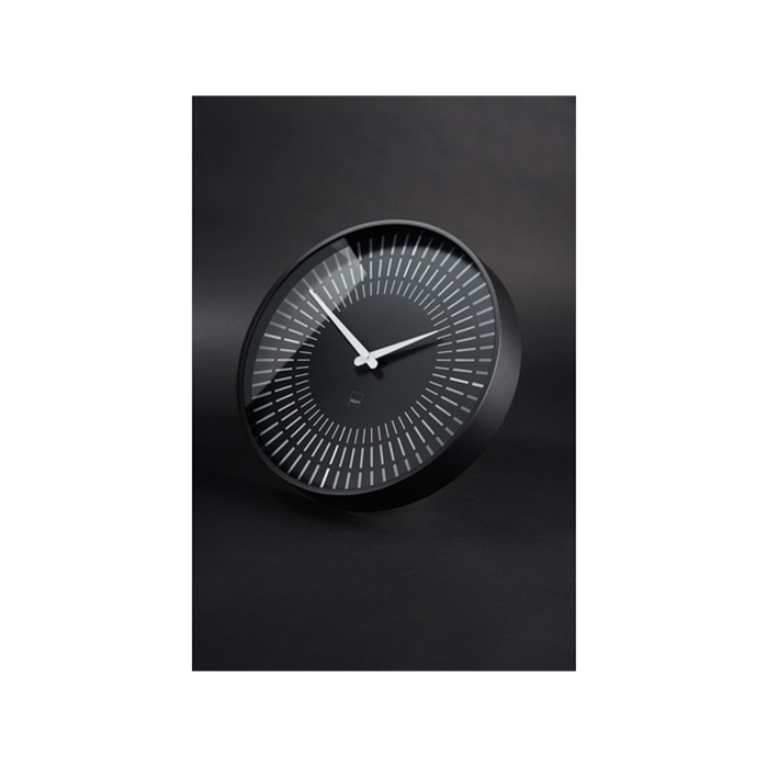 Picture of Horloge murale Sigel Lox Black ronde 36cm plastique
