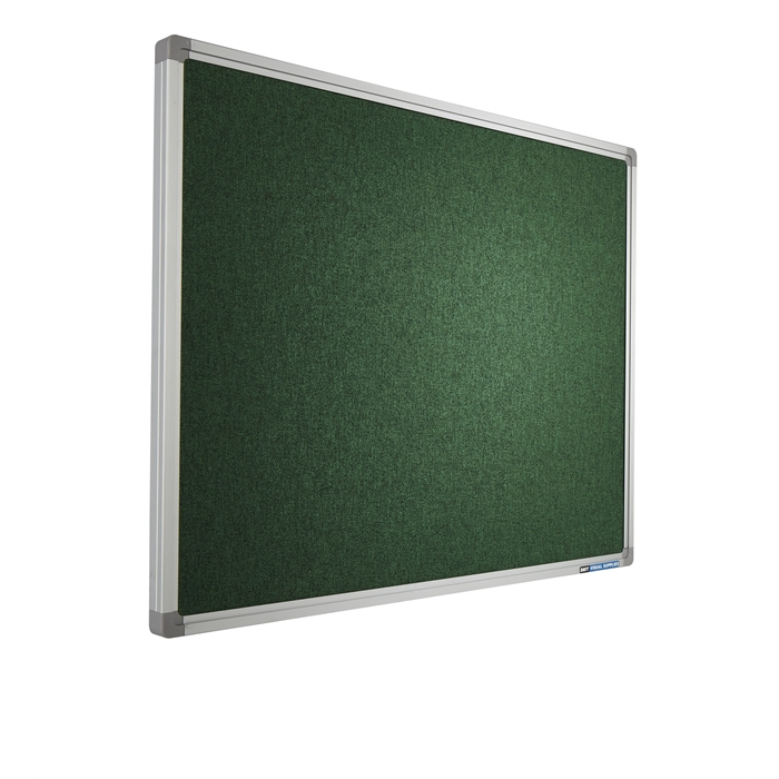SMIT VISUAL 11501.026 - Pin board Accent, SL16 frame AK003 Green 120x240 cm, Picture 1