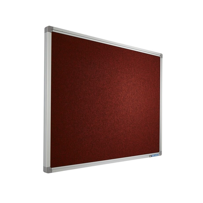 Picture of SMIT VISUAL 11501.001 - Pin board Accent, SL16 frame AK015 Orange/Red 45x60 cm