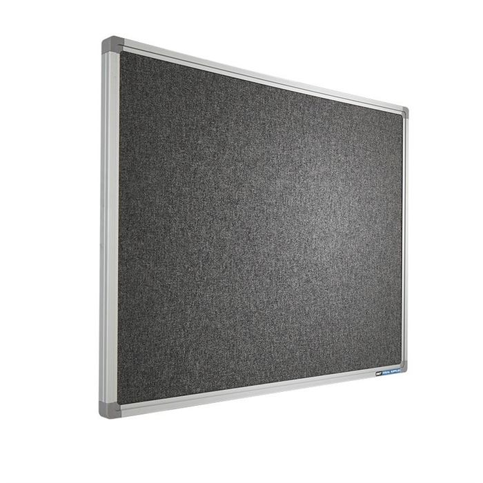 SMIT VISUAL 11501.106 - Pin board Accent, SL16 frame AK019 dark Gray 120x240 cm, Picture 1