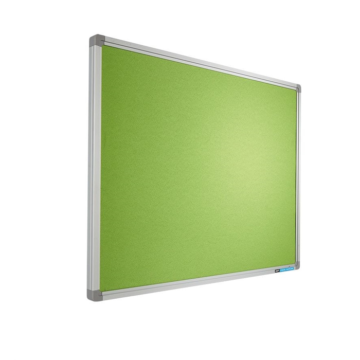 "Picture of ""Pinboard ""Pastel"", SL16 profile YS156"" Bright green 120x180cm"