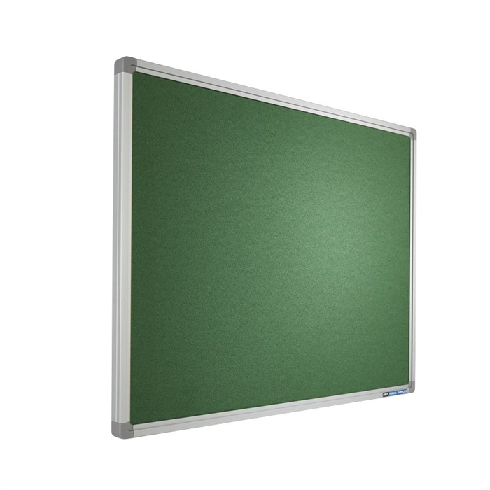Picture of SMIT VISUAL 11503.083 - Pin board Intense, SL16 frame YS159 Green 90x120 cm
