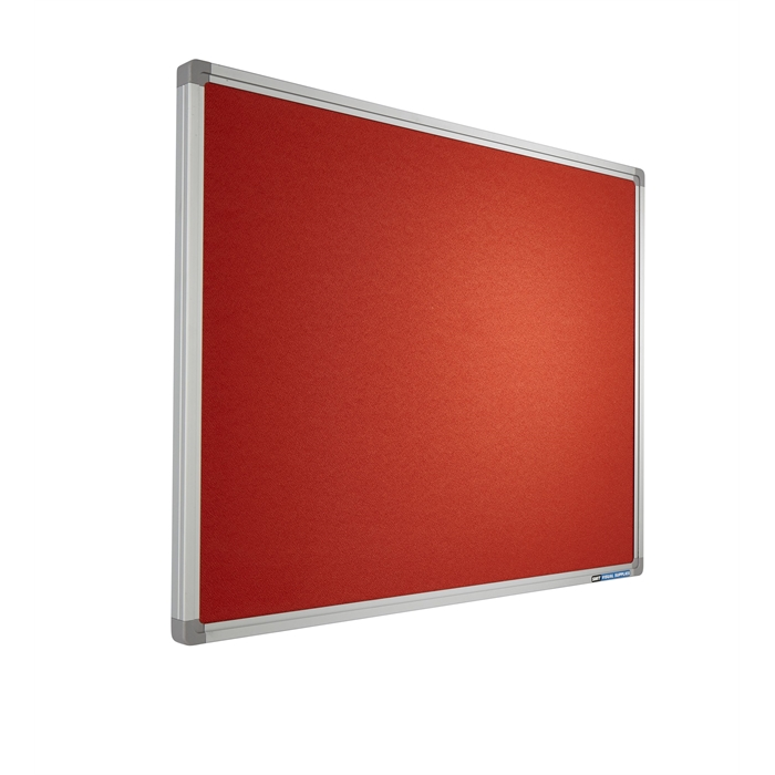 Picture of SMIT VISUAL 11503.106 - Pin board Intense, SL16 frame YS168 Orange 120x240 cm