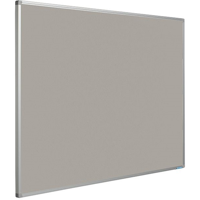 Picture of SMIT VISUAL 11204.121 - Pin board Bulletin Softline frame 16 mm, Gray 120x180 cm