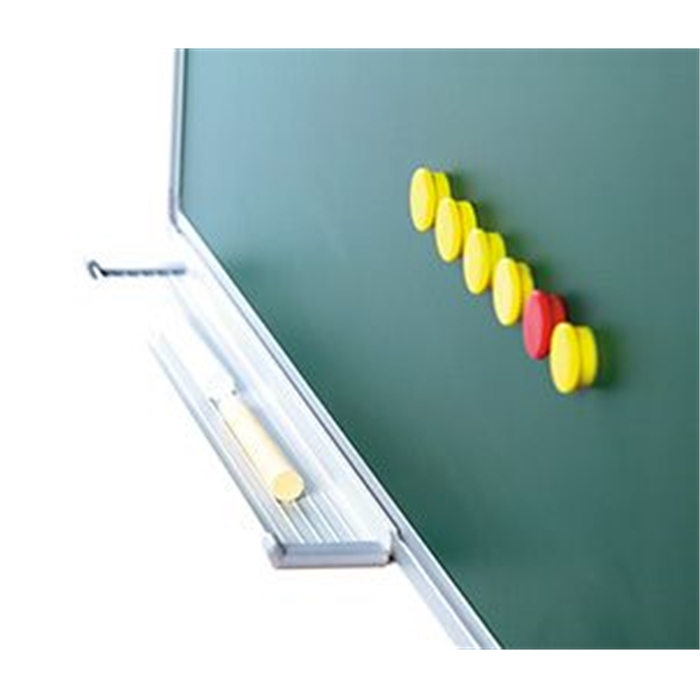 SMIT VISUAL 11103.247 - Chalk board enamelled steel Softline frame 8 mm, Green 100x100 cm, Picture 2