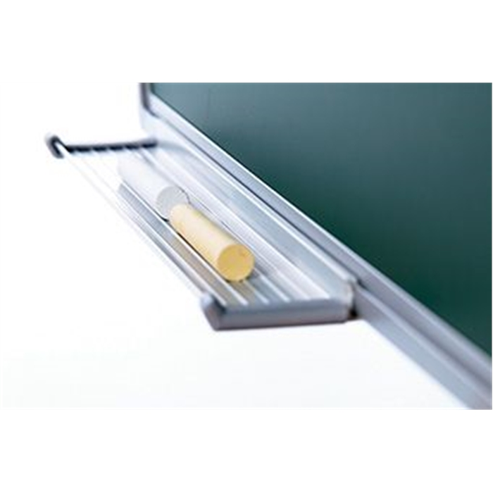 SMIT VISUAL 11103.247 - Chalk board enamelled steel Softline frame 8 mm, Green 100x100 cm, Picture 3