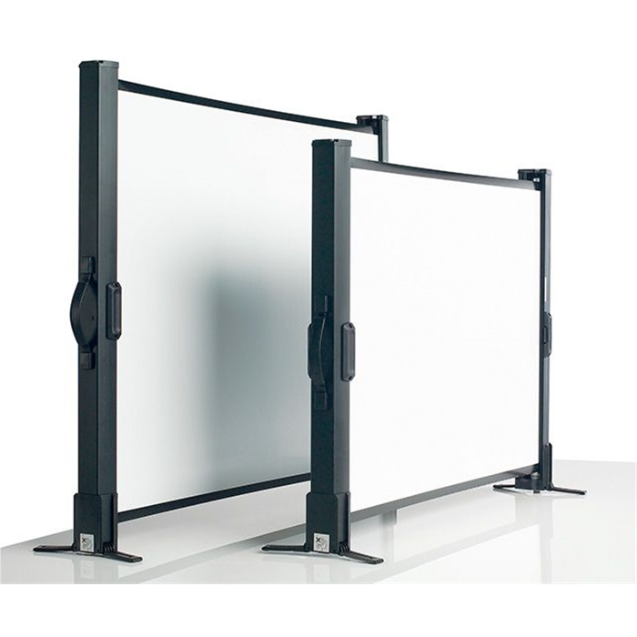 SMIT VISUAL 14007.360 - Projection screens, Table model, 40'', White/black, 93x72 cm, Picture 1