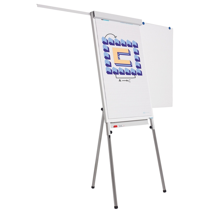 Picture of SMIT VISUAL 14001.100 - Flip chart Standard Plus White