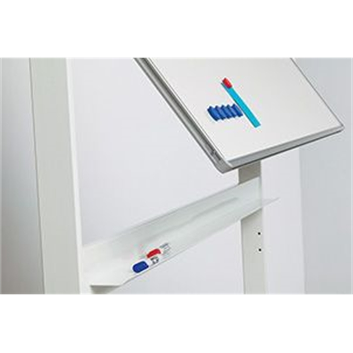 SMIT VISUAL 13009.101 - Revolving board RC, 10 mm Profile, Enamel white, 100x180 cm, Picture 3