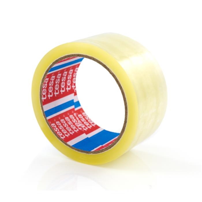 TESA Basic Packaging Tape 50mm x 66m PP Transparant, Picture 1
