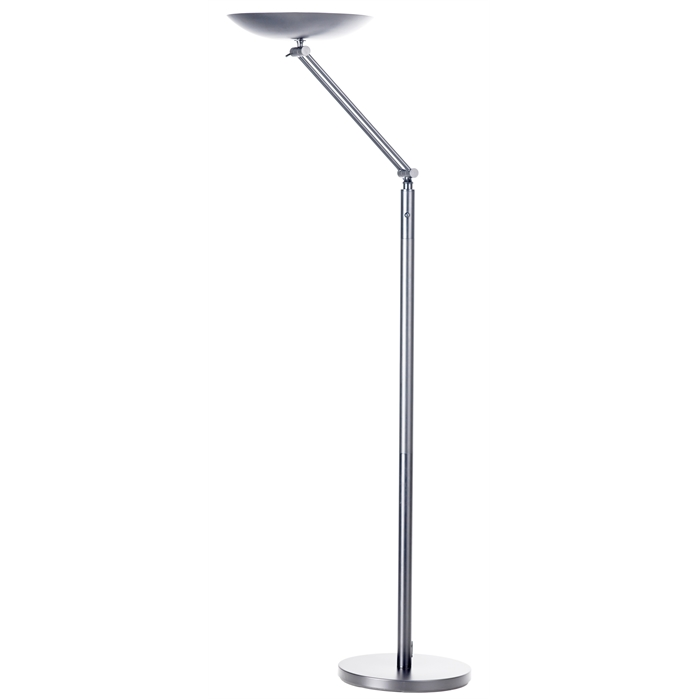 Unilux Varialux articulated Uplighter LED Metal grey Eu, Picture 1