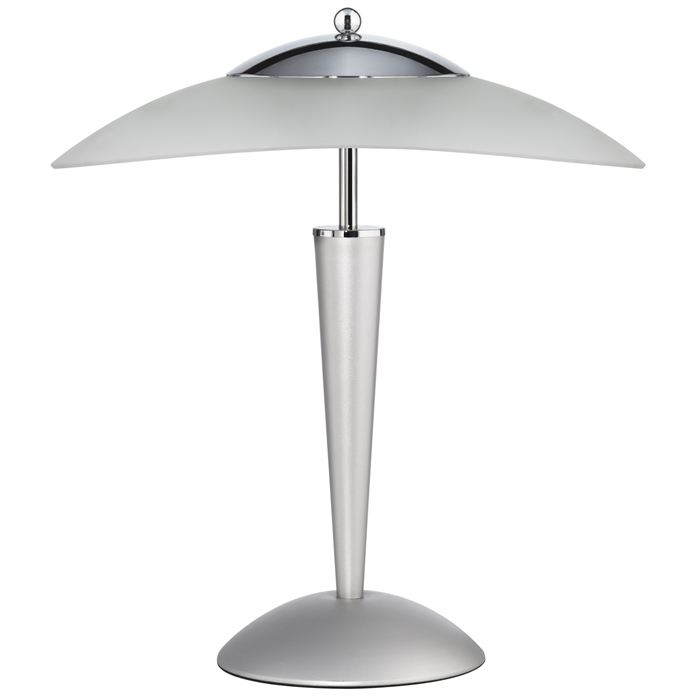 Unilux Cristal Lamp LED Metal grey Eu, Picture 1