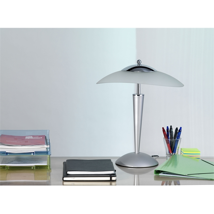 Unilux Cristal Lamp LED Metal grey Eu, Picture 5