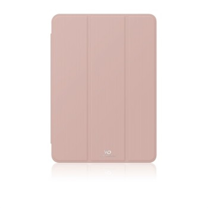Clear Booklet Case for Apple iPad 9.7, rose gold, Picture 1