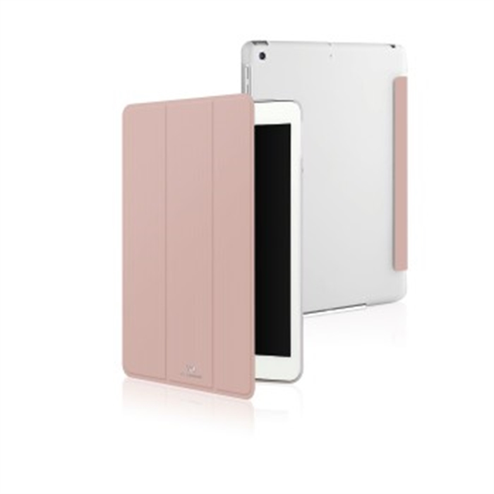 Clear Booklet Case for Apple iPad 9.7, rose gold, Picture 2