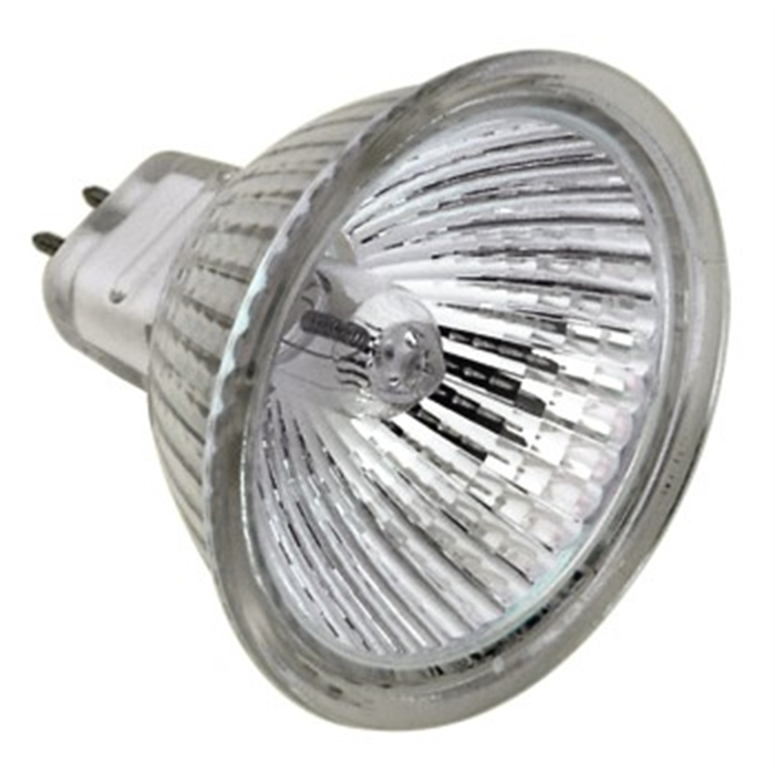 Afbeelding van Halogeen-reflectorlamp MR16, GU5.3, 50W, warm wit