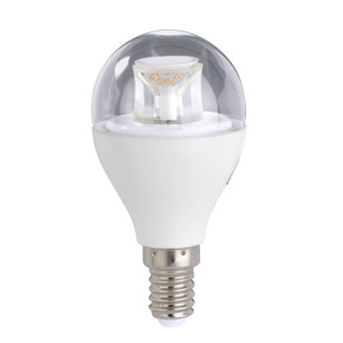 LED Bulb, E14, 470lm replaces 40W, drop bulb, warm white, dimmable, Picture 1