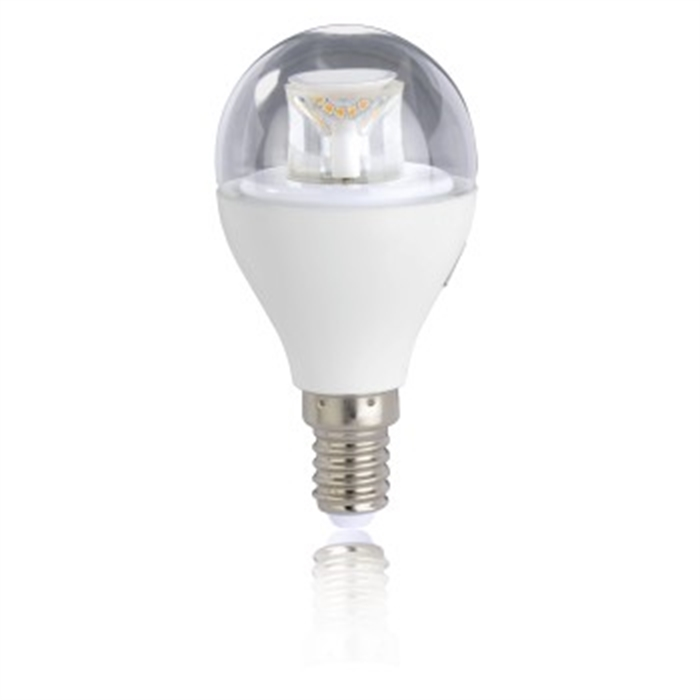 LED Bulb, E14, 470lm replaces 40W, drop bulb, warm white, dimmable, Picture 2