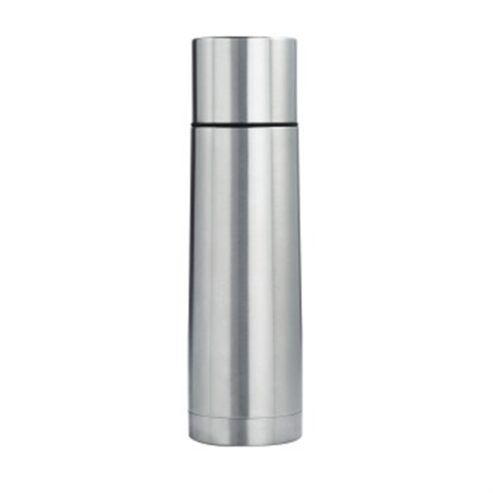 Steel Insulated Flask, 450 ml, Stainless Steel / Vacuum Bottle, Picture 1
