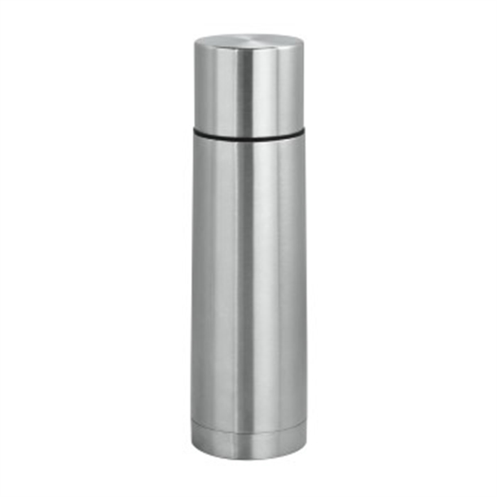 Steel Insulated Flask, 450 ml, Stainless Steel / Vacuum Bottle, Picture 2