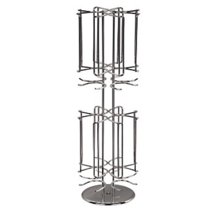 Picture of Rondello Coffee Capsule Stand for Dolce Gusto, silver chrome / Capsule Holder/Rack