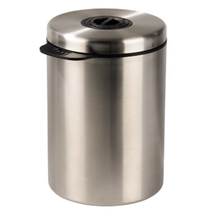 Picture of Stainless Steel Canister for 1 kg of Coffee Beans / Coffee/Tee Container