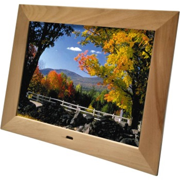 Picture of DigiFrame 1587 Digital Photo Frame, 8GB, 15, beech